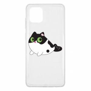 Etui na Samsung Note 10 Lite Monochrome mermaid cat