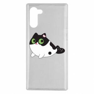 Etui na Samsung Note 10 Monochrome mermaid cat