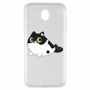 Etui na Samsung J7 2017 Monochrome mermaid cat