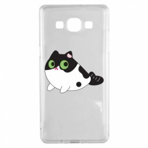 Etui na Samsung A5 2015 Monochrome mermaid cat