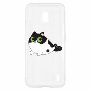 Etui na Nokia 2.2 Monochrome mermaid cat