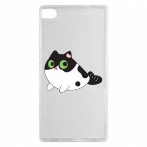 Etui na Huawei P8 Monochrome mermaid cat