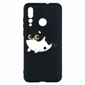 Etui na Huawei Nova 4 Monochrome mermaid cat