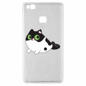 Etui na Huawei P9 Lite Monochrome mermaid cat