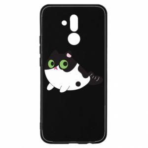 Etui na Huawei Mate 20 Lite Monochrome mermaid cat