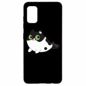 Etui na Samsung A41 Monochrome mermaid cat