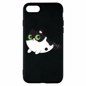 Etui na iPhone SE 2020 Monochrome mermaid cat