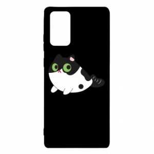 Etui na Samsung Note 20 Monochrome mermaid cat