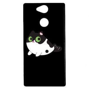 Etui na Sony Xperia XA2 Monochrome mermaid cat