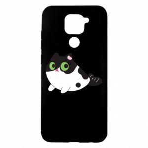 Etui na Xiaomi Redmi Note 9/Redmi 10X Monochrome mermaid cat