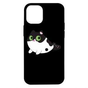 Etui na iPhone 12 Mini Monochrome mermaid cat