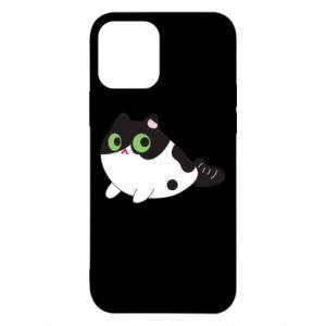 Etui na iPhone 12/12 Pro Monochrome mermaid cat