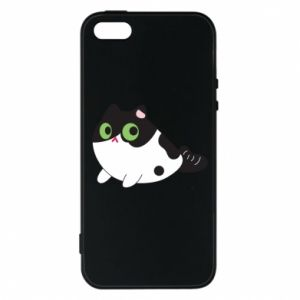 Etui na iPhone 5/5S/SE Monochrome mermaid cat