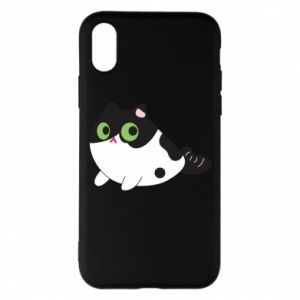 Etui na iPhone X/Xs Monochrome mermaid cat