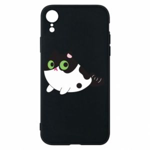 Etui na iPhone XR Monochrome mermaid cat