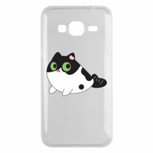 Etui na Samsung J3 2016 Monochrome mermaid cat