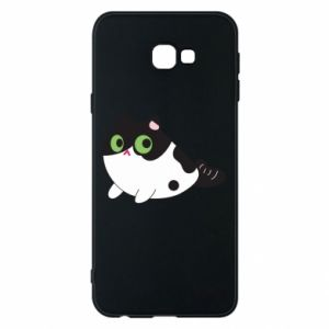 Etui na Samsung J4 Plus 2018 Monochrome mermaid cat