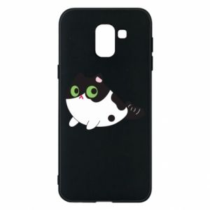 Etui na Samsung J6 Monochrome mermaid cat