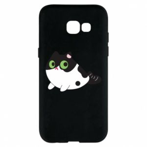 Etui na Samsung A5 2017 Monochrome mermaid cat