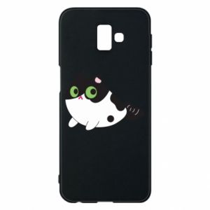 Etui na Samsung J6 Plus 2018 Monochrome mermaid cat