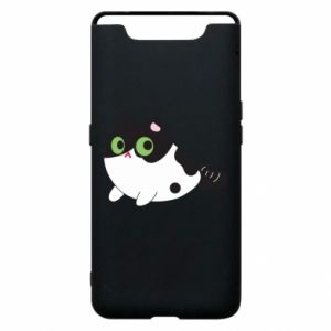 Etui na Samsung A80 Monochrome mermaid cat