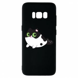 Etui na Samsung S8 Monochrome mermaid cat