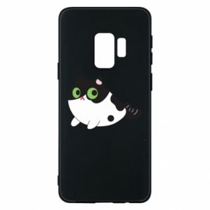 Etui na Samsung S9 Monochrome mermaid cat