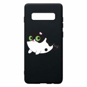 Etui na Samsung S10+ Monochrome mermaid cat