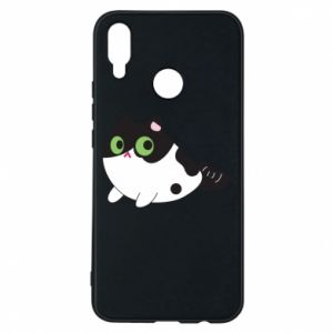 Etui na Huawei P Smart Plus Monochrome mermaid cat