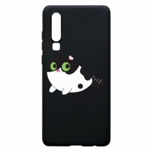 Etui na Huawei P30 Monochrome mermaid cat