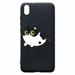 Etui na Xiaomi Redmi 7A Monochrome mermaid cat