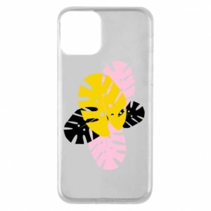 Phone case for iPhone 11 Monstera leaves