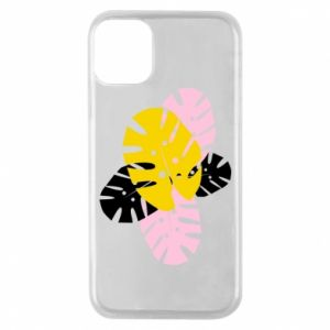 Phone case for iPhone 11 Pro Monstera leaves