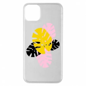 Phone case for iPhone 11 Pro Max Monstera leaves