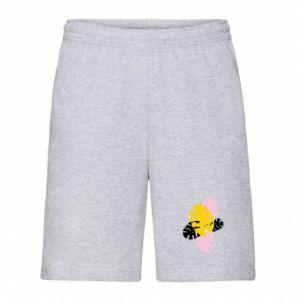 Men's shorts Monstera leaves