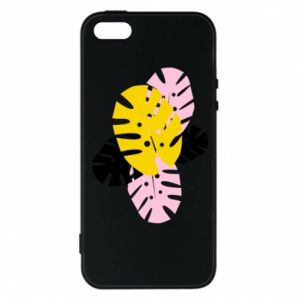 Phone case for iPhone 5/5S/SE Monstera leaves