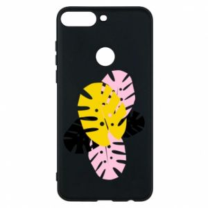 Phone case for Huawei Y7 Prime 2018 Monstera leaves