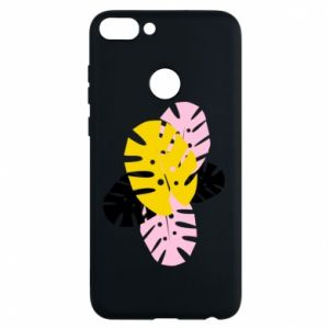 Phone case for Huawei P Smart Monstera leaves