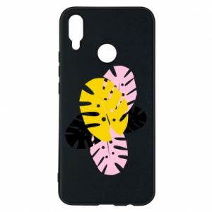 Phone case for Huawei P Smart Plus Monstera leaves