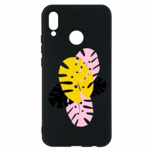 Phone case for Huawei P20 Lite Monstera leaves