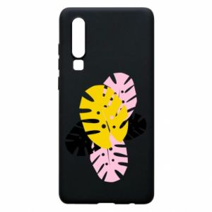Phone case for Huawei P30 Monstera leaves