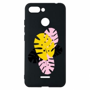 Phone case for Xiaomi Redmi 6 Monstera leaves