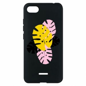 Phone case for Xiaomi Redmi 6A Monstera leaves