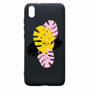 Phone case for Xiaomi Redmi 7A Monstera leaves