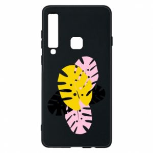 Phone case for Samsung A9 2018 Monstera leaves