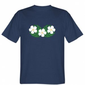 T-shirt Monstera with flowers