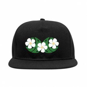 SnapBack Monstera with flowers - PrintSalon