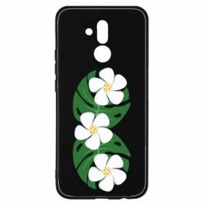 Etui na Huawei Mate 20 Lite Monstera z kwiatami