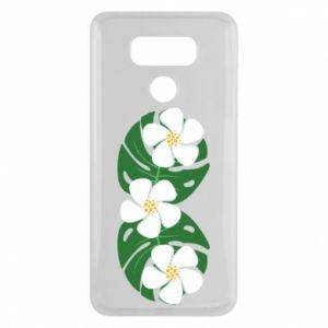 Etui na LG G6 Monstera z kwiatami