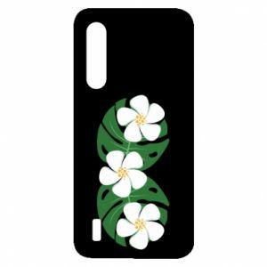 Etui na Xiaomi Mi9 Lite Monstera z kwiatami